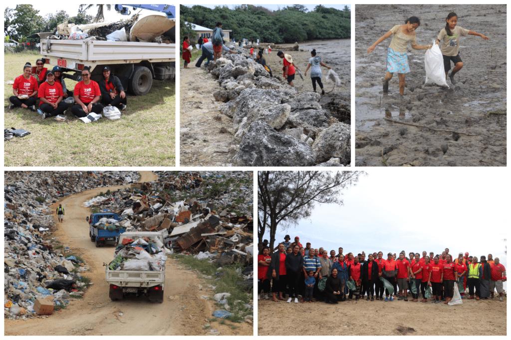 Women lead coastal planting and clean-up activities in Hihifo, Tongatapu