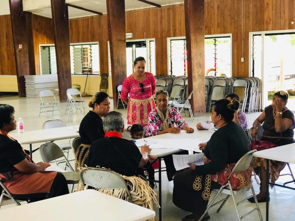 Communities highlight flooding and inundation as major issues for northern Tongatapu